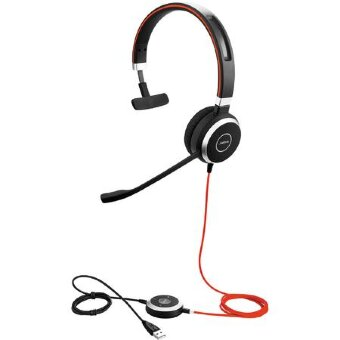 Jabra EVOLVE 40 MS Mono (6393-823-109) гарнитура