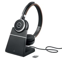 Jabra Evolve 65 Charging Stand, Link360, Stereo UC (6599-823-499) гарнитура