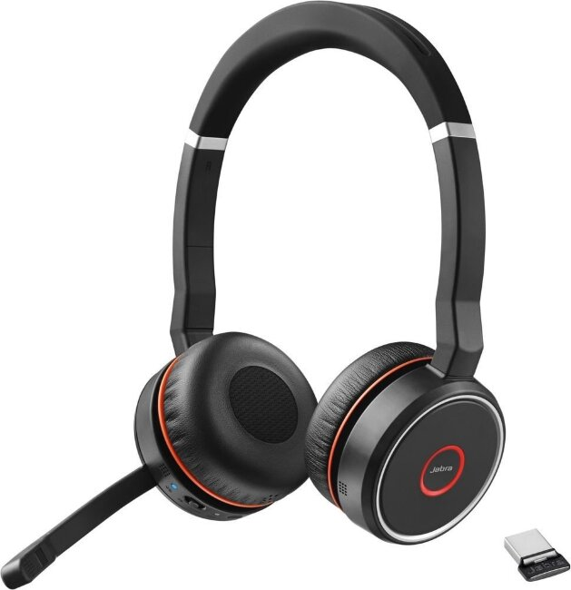 Jabra Evolve 75 Stereo MS incl. Link 370 (7599-832-109)гарнитура